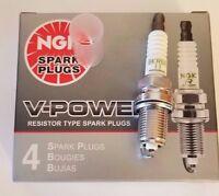 4 NGK SPARK PLUGS BKR5E-11 6953 V-POWER