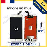 ECRAN IPHONE 6S PLUS BLANC VITRE TACTILE + LCD RETINA SUR CHASSIS + OUTILS