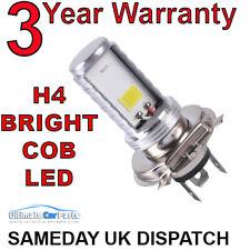 H4 MOTO PREMIUM s/n DEL Hi/Lo faisceau phare Ampoule Lampe Blanc 6500K