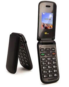 TTsims TT140 Cheapest Flip Mobile Phone Black Folding - 14day