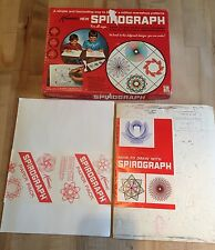 Vintage 1967 Kenner Spirograph No. 401 Drawing Set with Refill & Instructions