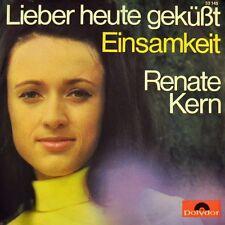 """7"""" RENATE KERN Lieber heute geküßt KAI WARNER plus Musicbox-Sticker POLYDOR 1969"""
