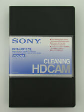 SONY BCT-HD12CL Cleaning for HDCAM Geräte Reinigungskassette NEU (world*)001-707