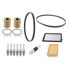 BMW E36 M3 1996-1999 Tune Up Kit Air Cabin Fuel Oil Filters Serpentine A/C Belts