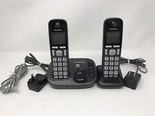Panasonic KX-TGD220 Cordless Phone Answering System 2 Handsets KX-TGA20