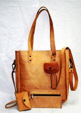 4Pcs Set Womens Leather Shoulder Bag Satchel Handbag Purse Tote Hobo Shopper