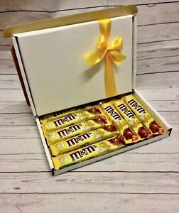 NEW Peanut M&Ms Bars Gift Box Hamper Mother's Day Easter Birthday Personalised
