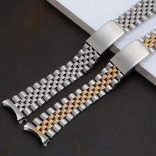 Bracciale jubilee tipo Rolex 20mm acciaio pieno chiusura a Z cinturino