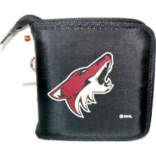 ARIZONA COYOTES CD/DVD/GAME VIDEO STORAGE NHL CARRYING CASE ORGANIZER BAG NYLON