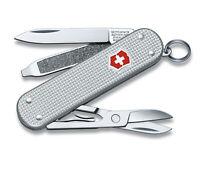 Victorinox Swiss Army Classic SD Pocket Knife, Silver Alox
