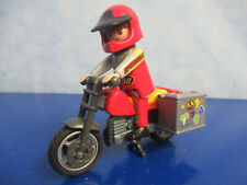 Motocross Motorcycle with 2 Saddle Bags and Figure Playmobil 9559