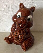 Vintage Squirrel / Chipmunk  Money Box  Sylvac Pottery  5105 Original stopper
