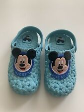 Toddler Boy Mickey Disney Water Shoes Size 31 Runs Small