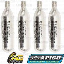 Apico Co2 Cajitas Frascos X4 Para Apico Portátil Neumático Inflador Negro Amarillo