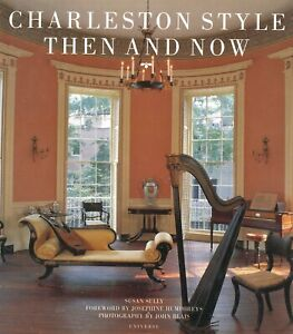 Antique Charleston Architecture Decorative Arts Garden Styles / Illustrated Book