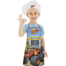 Official Blaze Apron  Set Kids Children Baking Easter Pancake Day 3-8 Years
