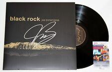 JOE BONAMASSA SIGNED BLACK ROCK LP VINYL RECORD ALBUM GUITAR AUTOGRAPH +JSA COA