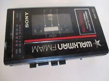 Sony Walkman FM/AM Recording Stereo Cassette Corder WM-F17 Non Working
