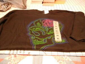 Vans MN Greenhouse Skull Black XL T-Shirt. NWT