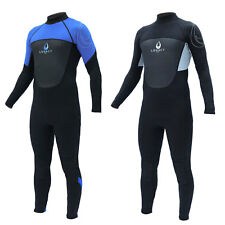 Legacy 3/2mm Mens Full Wetsuit Surf Steamer Swim Long Wet Suit Kayak S-XXL