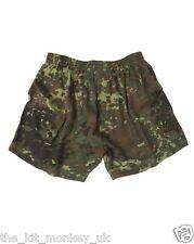 Mil-Tec Army Flecktarn Camouflage Military Mens Camo Boxer Shorts -New S-3XL