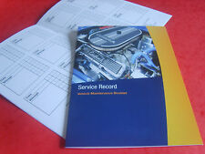 Ford Escort, Fiesta, Mondeo, Puma, Focus, Ka Service History Replacement Book