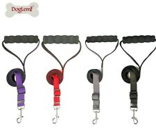Dog Leads Shock Absorber Anti Shock Collars Small Medium Large Rope Soft Handle