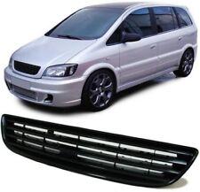Calandra Opel Zafira A 05/1999 A 06/2005 Rejilla Emblema Negro Sin Sigla Rejilla