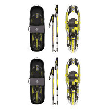 Yukon Charlie's Sherpa Series Snowshoe 8 x 21 Inches, Yellow/ Black (2 Pack)