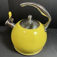 Sotya Tea Kettle Best 3 Liter Induction Modern Stainless Steel Whistle Teapot