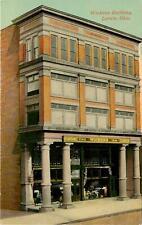 Ohio, OH, Lorain, Wickens Building 1910's Postcard