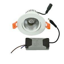 LED Einbaustrahler 230V 7W 700lm warmweiß mit PHILIPS LED Treiber Deckenleuchte