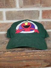 Sesame Street Elmo Snapback Hat Cap Green