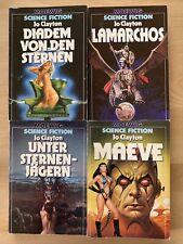 4x JO CLAYTON, Diadem Zyklus, Moewig SF Science Fiction: Lamarchos, Sternenjäger