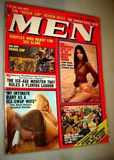 Men Magazine March 1974 Sex Life of the American Indian Woman Girlie Pinup
