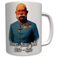 Kaiser Franz Josef 1830-1916 Österreich WK Monarchie - Tasse Kaffee #6999