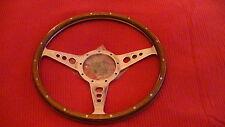 """Moto-Lita 14"""" MK3 a forma di Piatto Fori Volante woodrim TRIUMPH SPITFIRE ecc."""