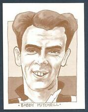 MIS-SPENT YOUTH-TOON TRADERS-1995 #30-NEWCASTLE UNITED-3RD LANARK-BOBBY MITCHELL