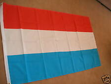 LUXEMBOURG FLAG FLAGS 5'X3' BRAND NEW POLYESTER POST FREE IN UK