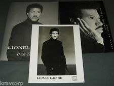 LIONEL RICHIE 'BACK TO FRONT' 1992 PRESS KIT—PHOTO