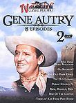 TV Classic Westerns: Gene Autry - 8 Features (DVD, 2003, 2-Disc Set) Like New