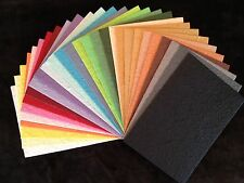 28 Handmade Mulberry Paper extra thick colorful Tear Bears Paper Piecing cards