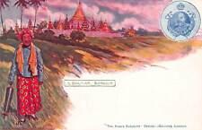 Burma Myanmar A Burman Postcard