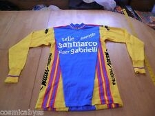 VINTAGE racing cycling wool jersey shirt Campagnolo wool Wilier Giordana Italy