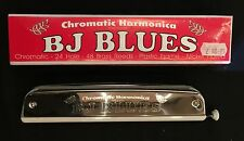 BJ Blues Chromatic Harmonica