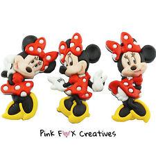 Minnie Mouse dress It Up Novità Craft pulsanti Disney a pois HOBBY CUCITO Divertente
