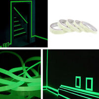 Luminous Tape Waterproof Self-adhesive Glow In The Dark Safety Stage Home Decor!