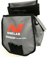 Minelab Metal Detector Finds Pouch in Grey & Black for Tools and Finds9999-0076