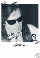 Jose Feliciano Singer Hand Signed Photograph 10 x 8