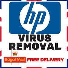 HP WINDOWS VIRUS REMOVAL - ANTIVIRUS/ANTI-MALWARE/ANTI-SPYWARE XP VISTA 7/8/10
